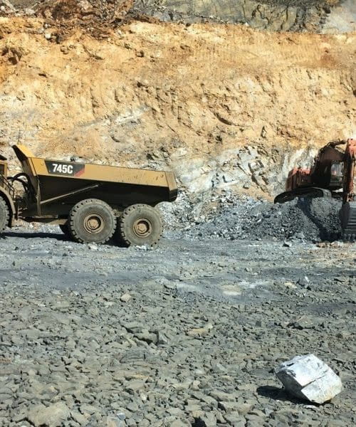 Small scale mining projects